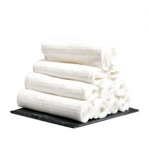 Production of baby towel disposable